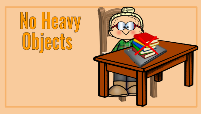 No Heavy Objects