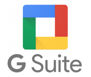 G Suite Red Blue Green and Yellow Square