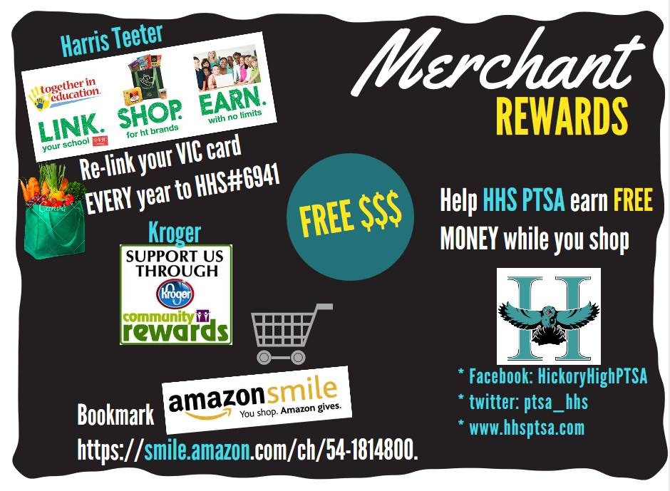 Merchant Rewards Help HHS PTSA