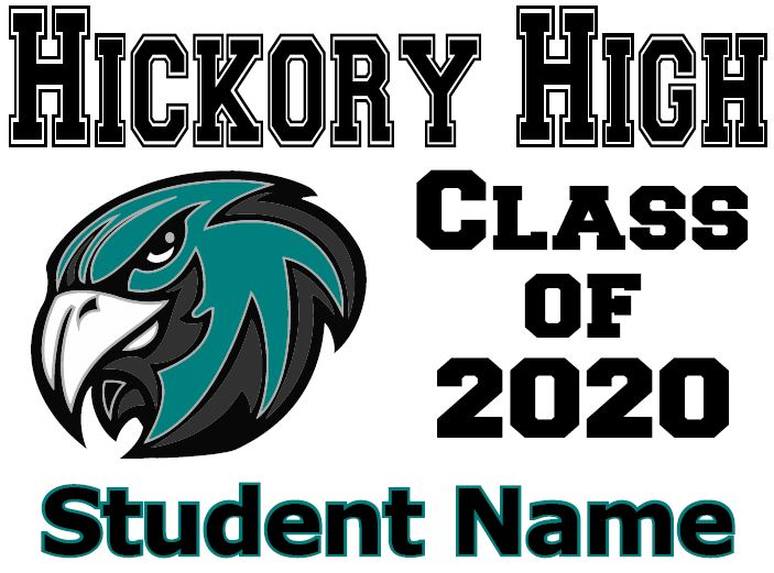 2020 Hickory high school class of 2020 student name