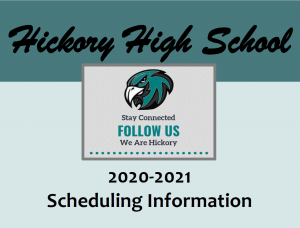 Hickory High School Scheduling Picture