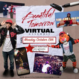 Beautiful Tomorrow Virtual Assembly Monday, October 19