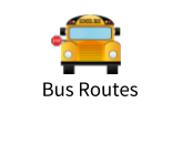 School bus stopped: Bus Routes