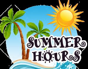 Summer Hours (Sunny, Palm Trees,Beach)