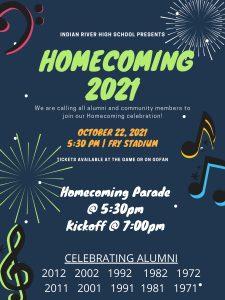 Homecoming 2021 - October 22, 2021