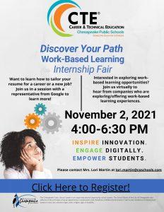 CTE Virtual Internship Fair