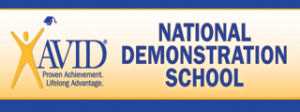 AVID proven achievement. lifelong advantage. National demonstration School