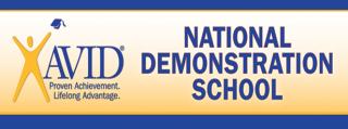 AVID proven achievement. lifelong advantage. National demonstration School
