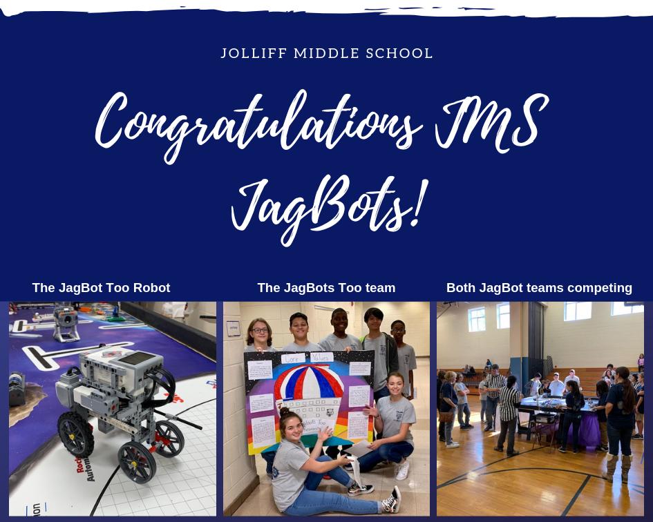 Congratulations JMS JagBots