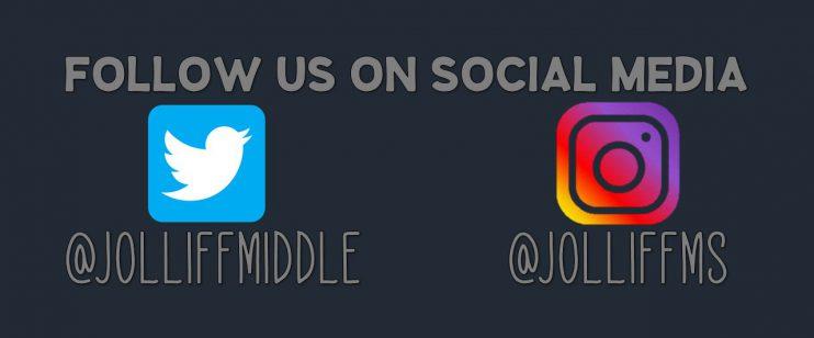 Follow us on social media #@JolliffMiddle @JolliffMS