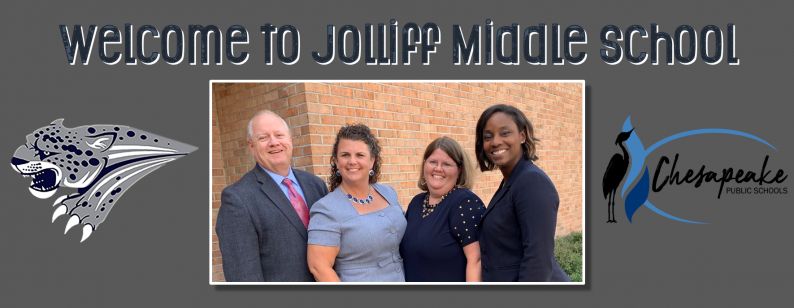 Welcome to Jolliff Middle Photo of Admin