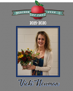 Teacher of the Year 2019-2020 Vicki Newman
