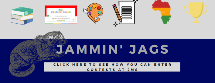 Jammin Jags- click here to see how you can enter contests going on at JMS