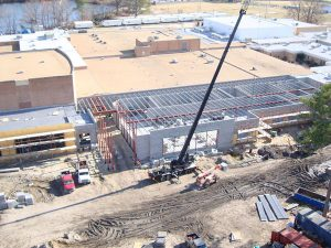 Indian River High School construction photo
