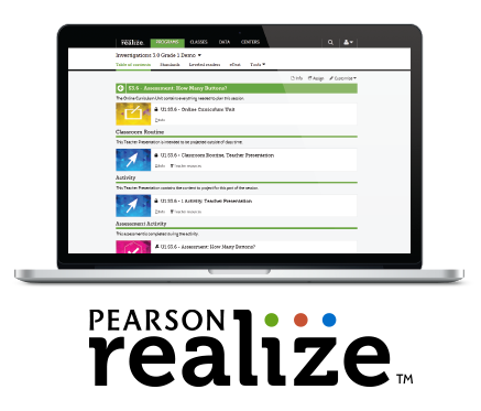 Pearson Realize image