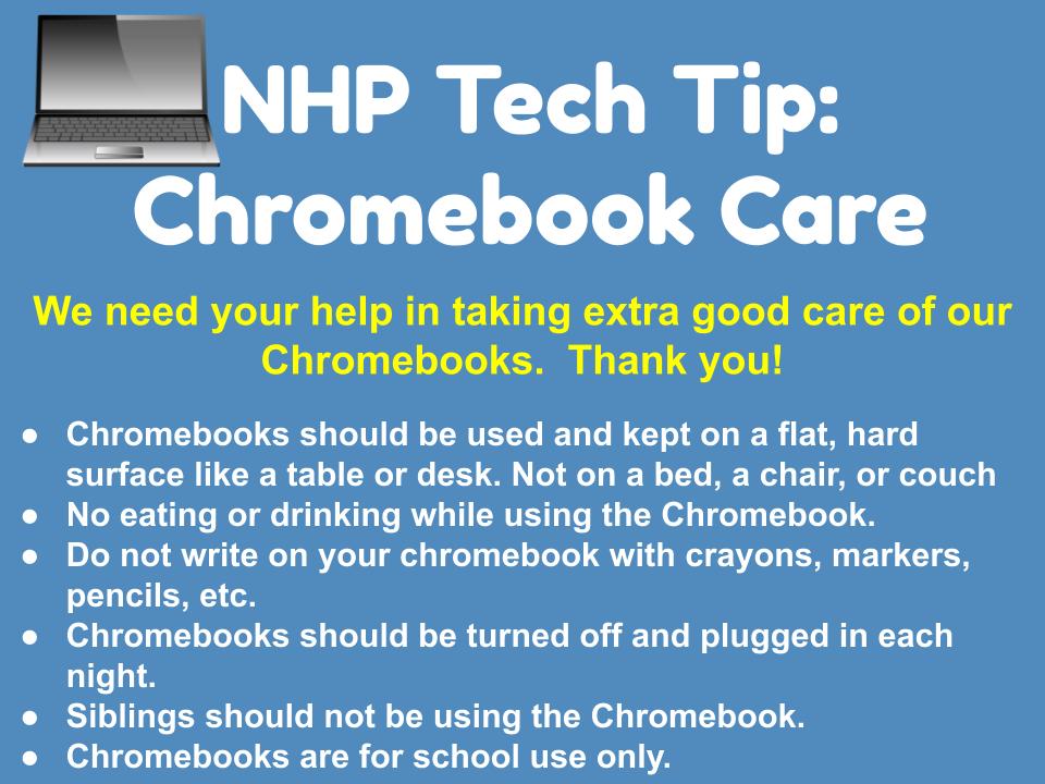 Chromebook Care