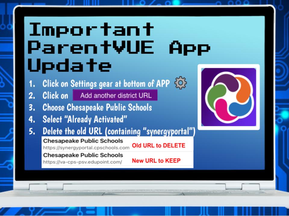 ParentVUE App Update