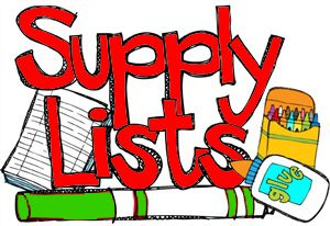 Supply Lists