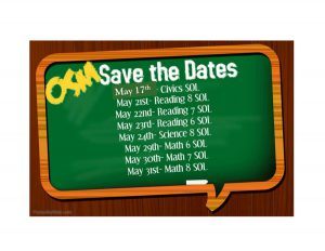 OSM Save the Dates SOL Testing
