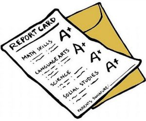 1st Marking Period: Report Cards