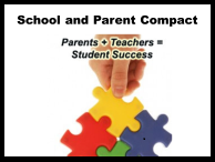 School and Parent Compact (Parents + Teachers = Student Success)