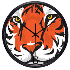 Tiger Clock Face