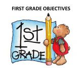First Grade Objectives