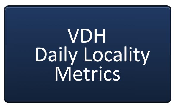 LINK TO Virginia Department of Health School Metrics for the Eastern Region of Virginia
