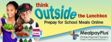 think outside the lunchbox prepay for school meals online mealpay plus online payment system