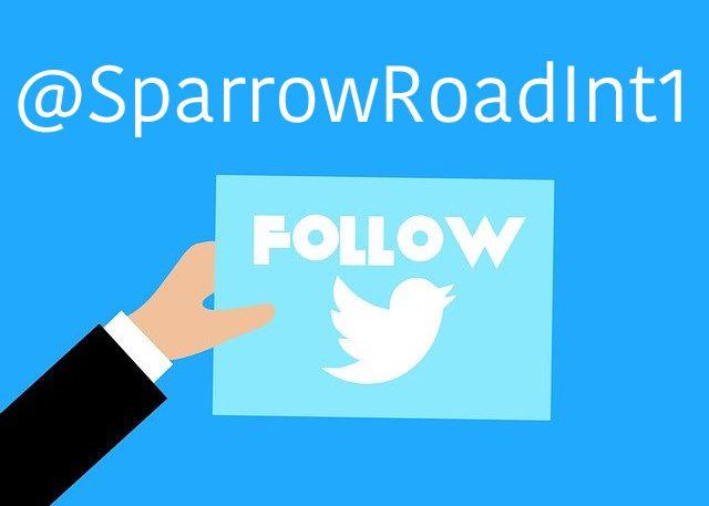 @SparrowRoadInt1 Follow twitter icon
