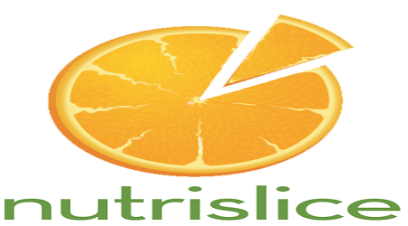 Nutrislice (An orange slice with one piece being pulled out)