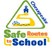 Chesapeake Safe Routes to School Logo
