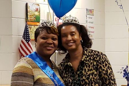 Taletta Wilson, left and Angela Lindsey, right