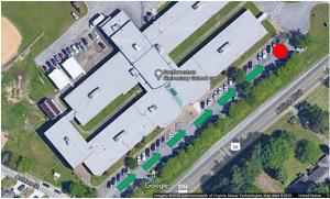 overhead photo of Southwestern Elementary School