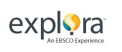 Explora An EBSCO Experience logo with hot air balloon