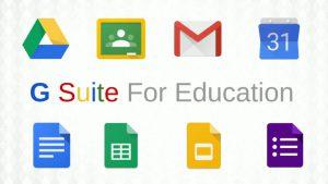Google Suite for Education Login Button
