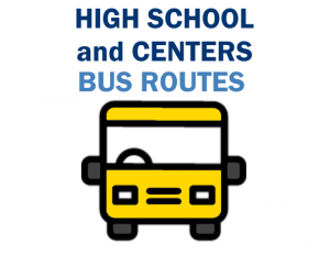 High School and Centers Bus Routes