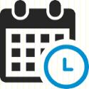 decorative schedule icon