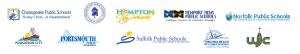 logos of all Hampton Roads school systems
