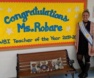 Congratulations Ms. Robare.