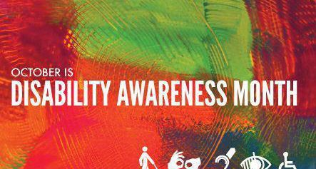 October is Disability Awareness Month