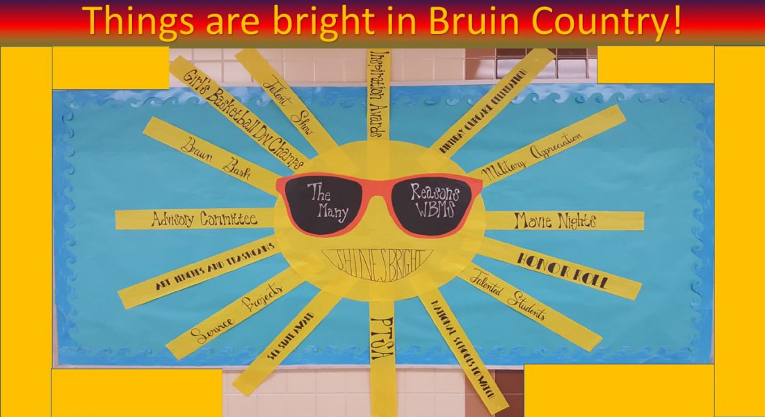 Things are bright in Bruin Country! Sun with Sunshades on