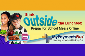 think outisde the lunchbox prepay for school meals online (Payment Plus)
