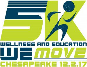 5K Wellness and Education We Move Chesapeake 12.2.17