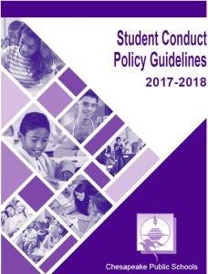Student Conduct Policy Guidelines 2017-2018 Cover