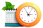 Clock and Calendar image