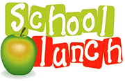 School Lunch with an apple