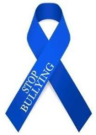 blue ribbon - stop bullying