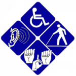 icons representing disabilities