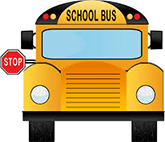 front view of school bus